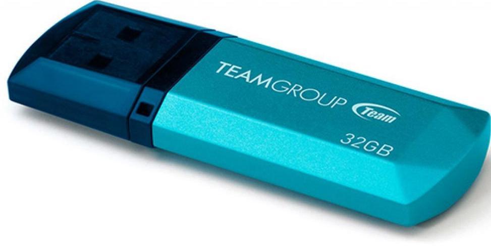 Купить Флешка USB Team C153 32 ГБ (TC15332GL01) блакитна