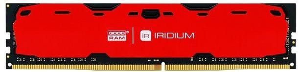 Купить Пам'ять GoodRam Iridium Red DDR4 1х8 ГБ (IR-R2400D464L15S/8G)