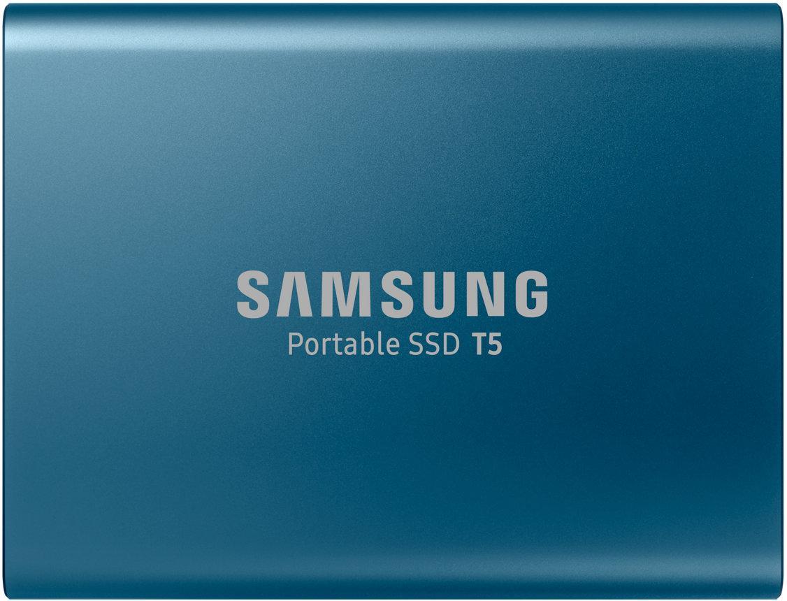 Купить Зовнішній твердотільний накопичувач Samsung T5 250GB MU-PA250B/WW