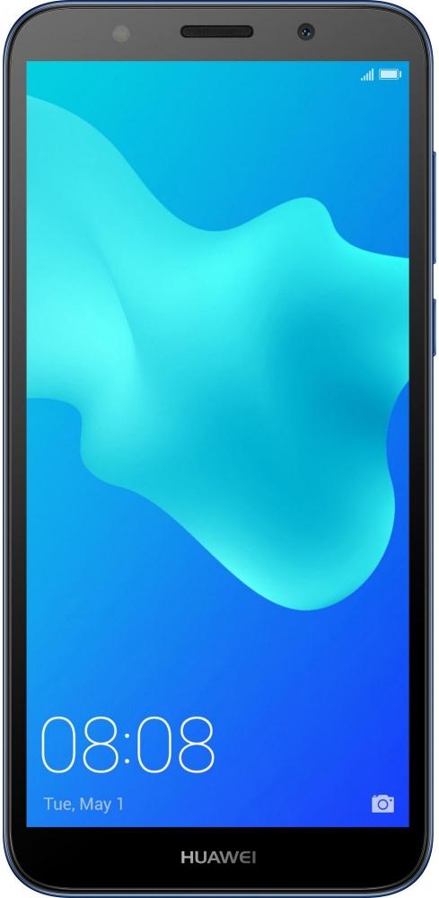 Смартфон Huawei Y5 2018 2/16GB DRA-L21 Blue (51092LET)  - купить со скидкой