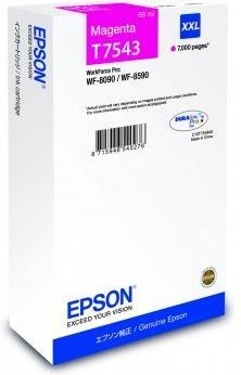 Купить Картриджі, Картридж Epson WF-8090/8590 XXL (7k) Magenta, C13T754340
