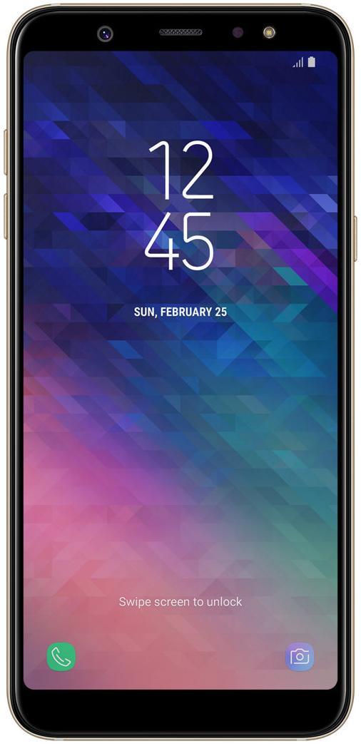Купить Смартфон Samsung Galaxy A6 Plus 2018 3/32GB SM-A605FZDNSEK Gold