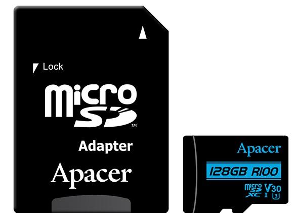Купить Карта пам'яті Apacer Micro SDXC 128GB AP128GMCSX10U7-R