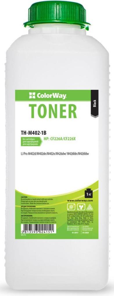 Купить Тонер ColorWay for HP LJ Pro M402/M426 1kg Black, TH-M402-1B