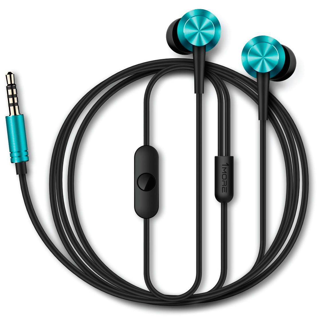 Купить Навушники та гарнітури, Гарнітура 1more Piston Fit Blue (387485)