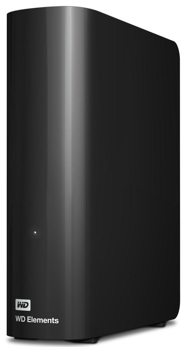 Купить Зовнішній жорсткий диск Western Digital Elements Desktop 8TB WDBWLG0080HBK-EESN Black
