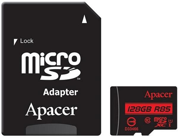 Купить Flash пам'ять, Карта пам'яті Apacer Micro SDXC 128GB AP128GMCSX10U5-R