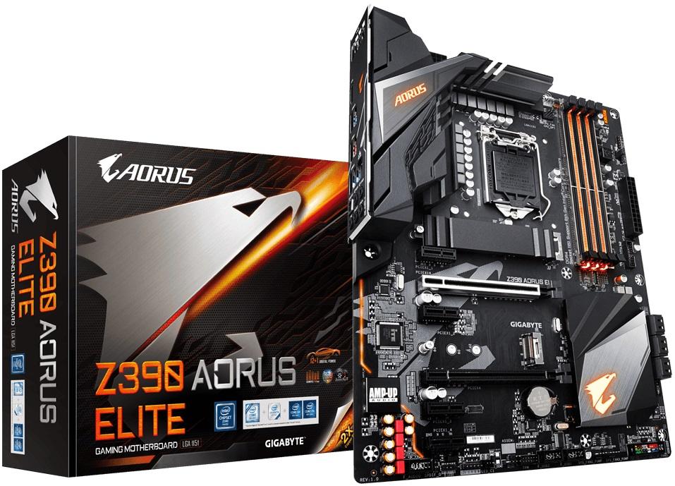 Купить Материнська плата Gigabyte Z390 Aorus Elite (Z390 AORUS ELITE)
