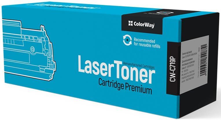 Купить Картридж ColorWay for Canon (719/319) MF5840/LBP6300 Універсальний Premium, CW-C719P