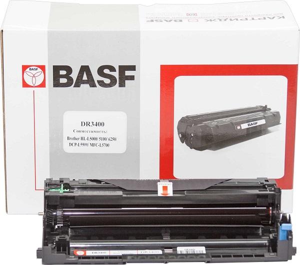Купить ЗІП для принтерів, копірів, Drum Unit Basf для Brother HL-L5000D/5100DN/DCP-L5500DN/MFC-L5700DN аналог DR3400, BASF-DR-DR3400