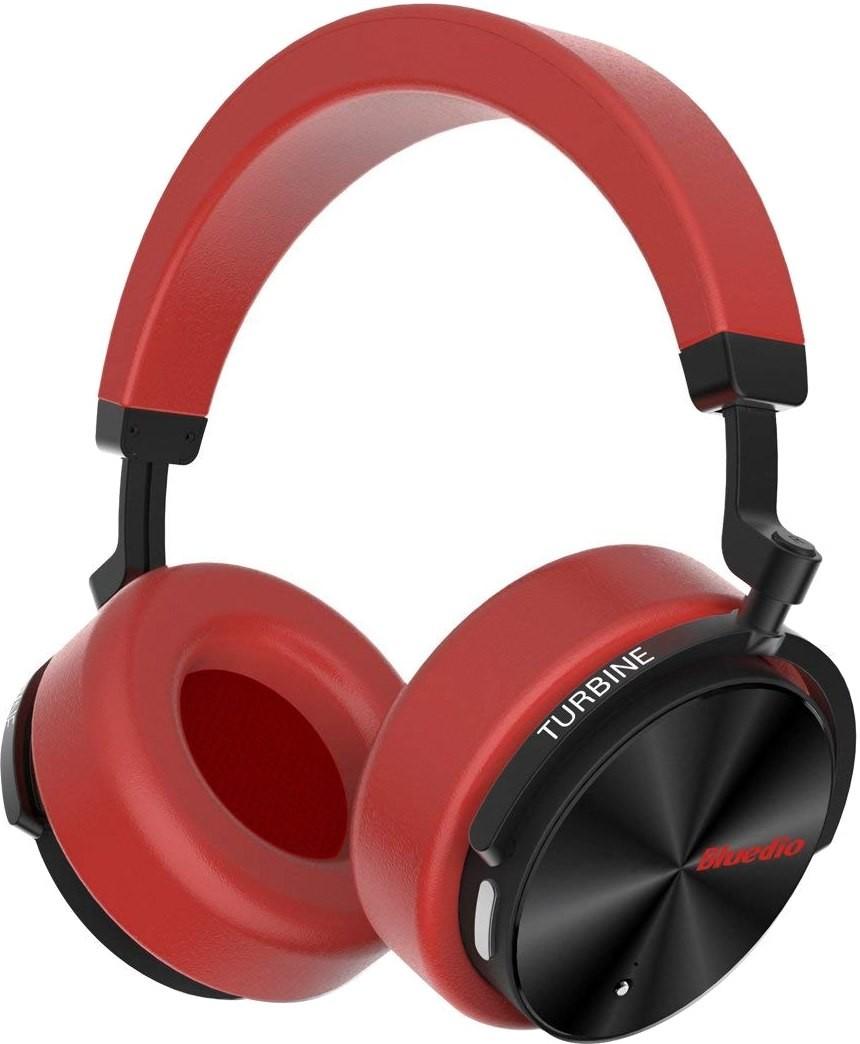 Купить Навушники та гарнітури, Гарнітура Bluedio T5 Red
