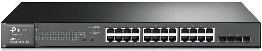 Купить Комутатори, Комутатор TP-Link T1600G-28PS L2 Features