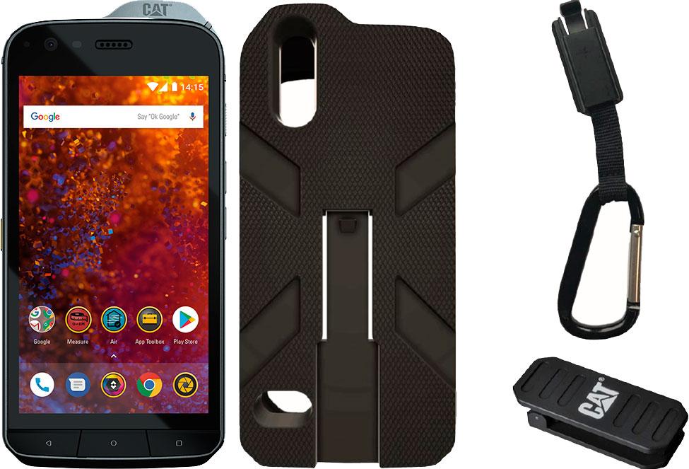 c38a0c7eab772 Смартфон CAT S61 4/64GB Black with Hybrid Case S61 – купить в ...