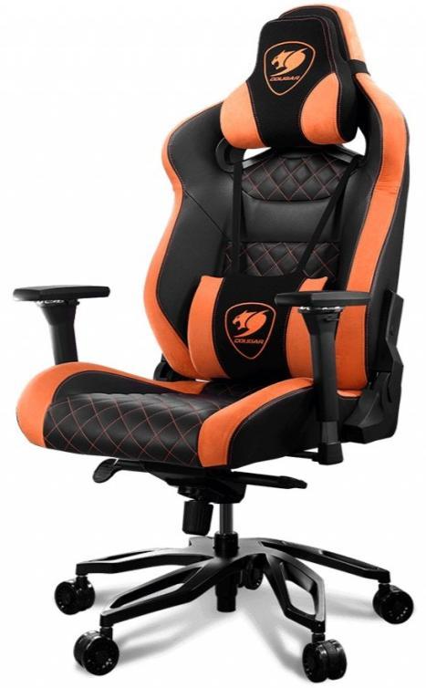 Купить Крісла, Крісло Cougar Armor Titan Pro Black/Orange (Armor TITAN PRO)