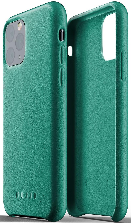 Купить Аксесуари для мобільних телефонів, Чохол MUJJO for iPhone 11 Pro - Full Leather Alpine Green (MUJJO-CL-001-GR)