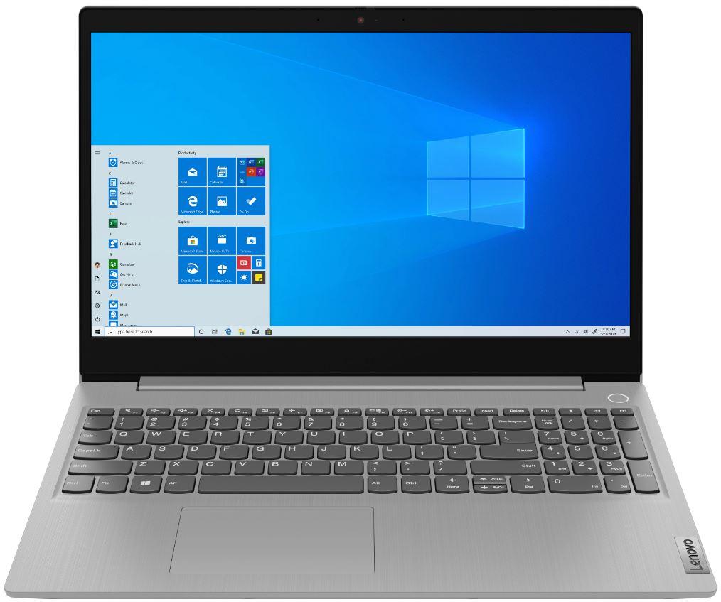 Ноутбук Lenovo IdeaPad 3 15IML05 81Y300NJRA Platinum Gray