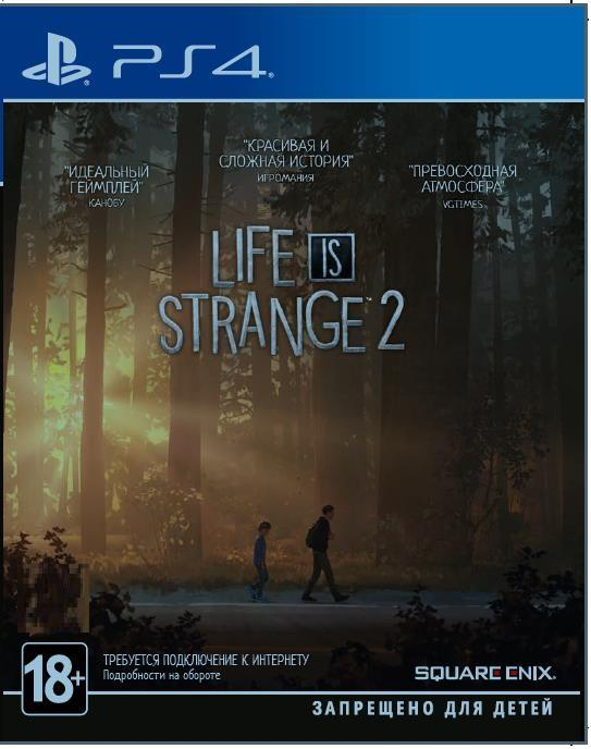 Купить Ігри, Гра Life is Strange 2 [PS4, English version] Blu-ray диск, SLIS24EN01, Sony