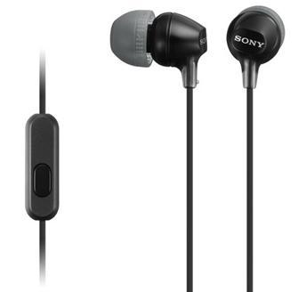 Купить Гарнітура Sony MDR-EX15AP Mic MDREX15APB.CE7 Black