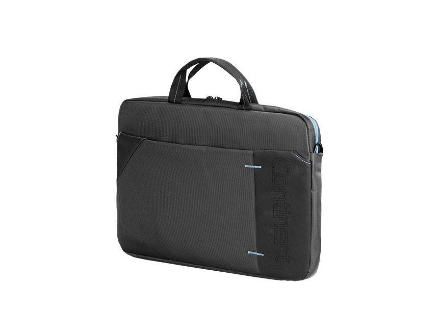 Сумка для ноутбука Continent CC-205 GB сіра з блакитним, CC-205GB  - купить со скидкой