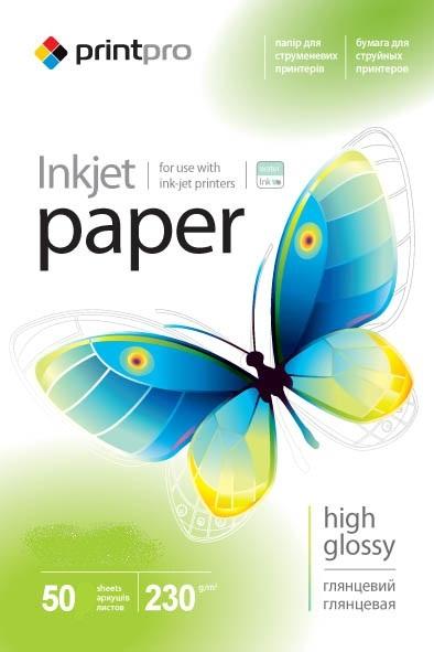 Купить Фотопапір A4 ColorWay PrintPro 50 аркушів (PGE230050A4)