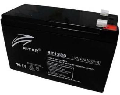 Купить Батарея до ПБЖ Ritar 12V-8AH, RT1280