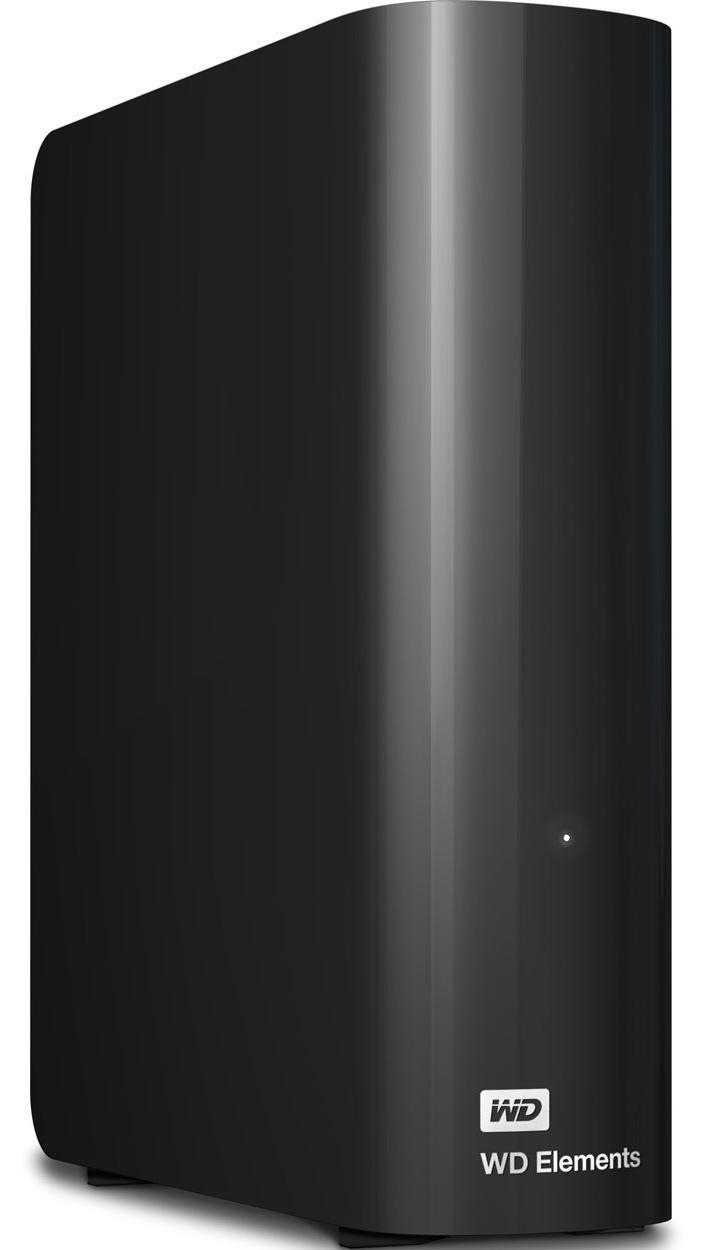 Купить Зовнішній жорсткий диск Western Digital Elements 4 TБ чорний, WDBWLG0040HBK-EESN