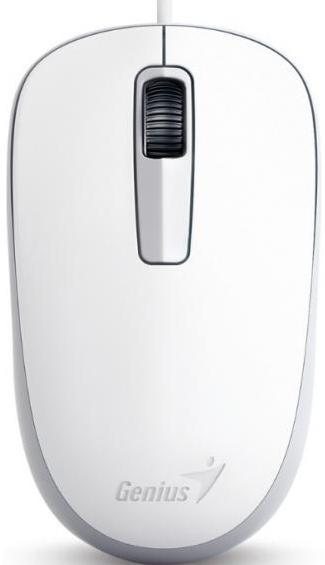 Купить Мишка Genius DX-125 біла, 31010106102