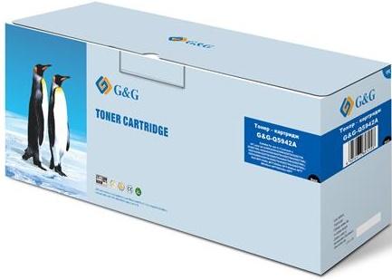 Купить Картриджі, Картридж G&G HP 4240N/4250/4350/4200/4300/ 4345-Q1338A/Q1339A/Q5945A чорний, G&G-Q5942A