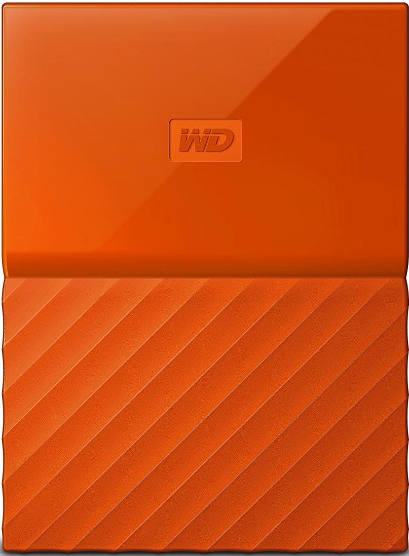 Купить Зовнішній жорсткий диск Western Digital My Passport 1 ТБ оранжевий, WDBYNN0010BOR-WESN