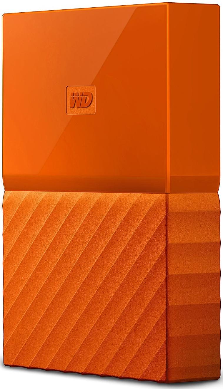 Купить Зовнішній жорсткий диск Western Digital My Passport 4 ТБ оранжевий, WDBYFT0040BOR-WESN