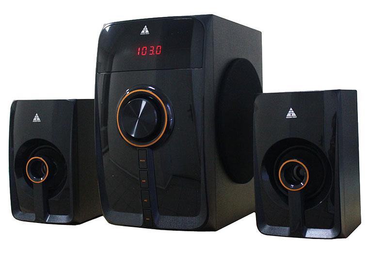 Купить Акустична система Golden Field LA-160F чорна, LA-160F_Bluetooth