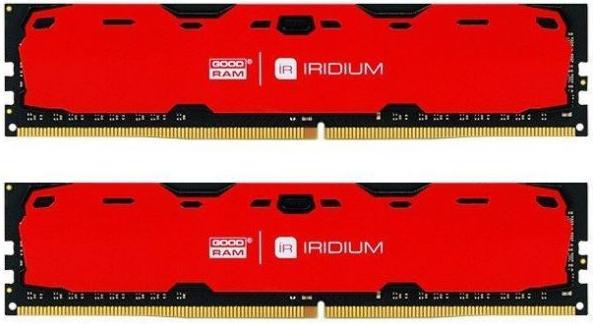 Купить Пам'ять GoodRam Iridium Red DDR4 2x8 ГБ (IR-R2400D464L15S/16GDC)