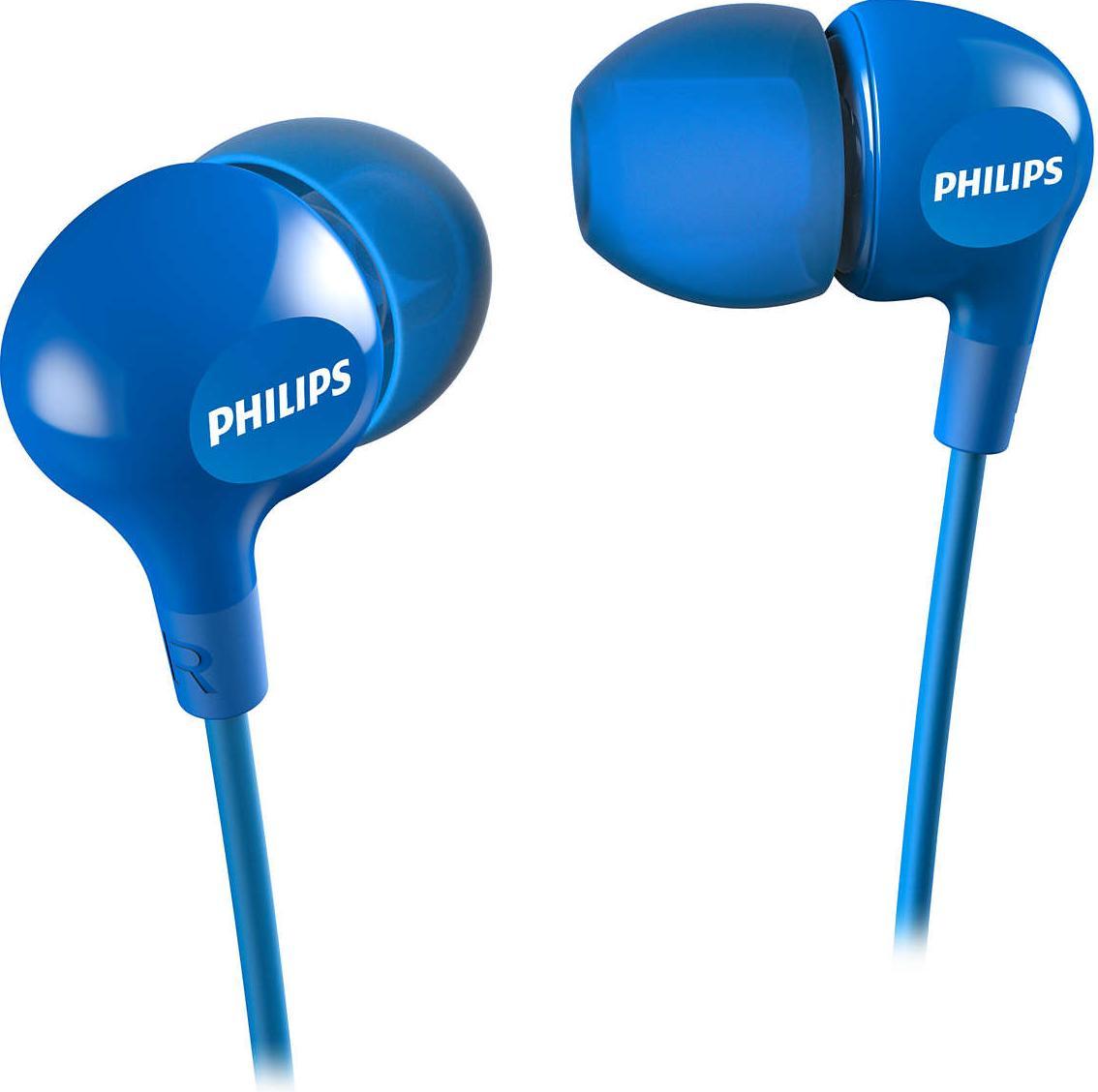 Навушники Philips SHE3550BL 00 Blue – купити в інтернет-магазині KTC ... 46e07f4993cd9