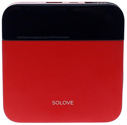 Купить Батарея універсальна Solove A210 mini Power Bank 10000mAh Red (A210 mini Red)
