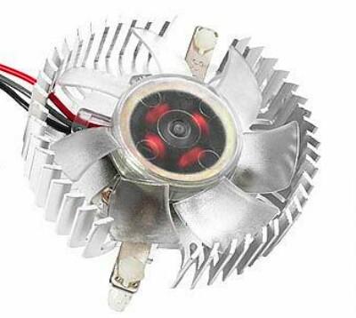 Купить Вентилятор для корпуса Gembird VC-RD Silver