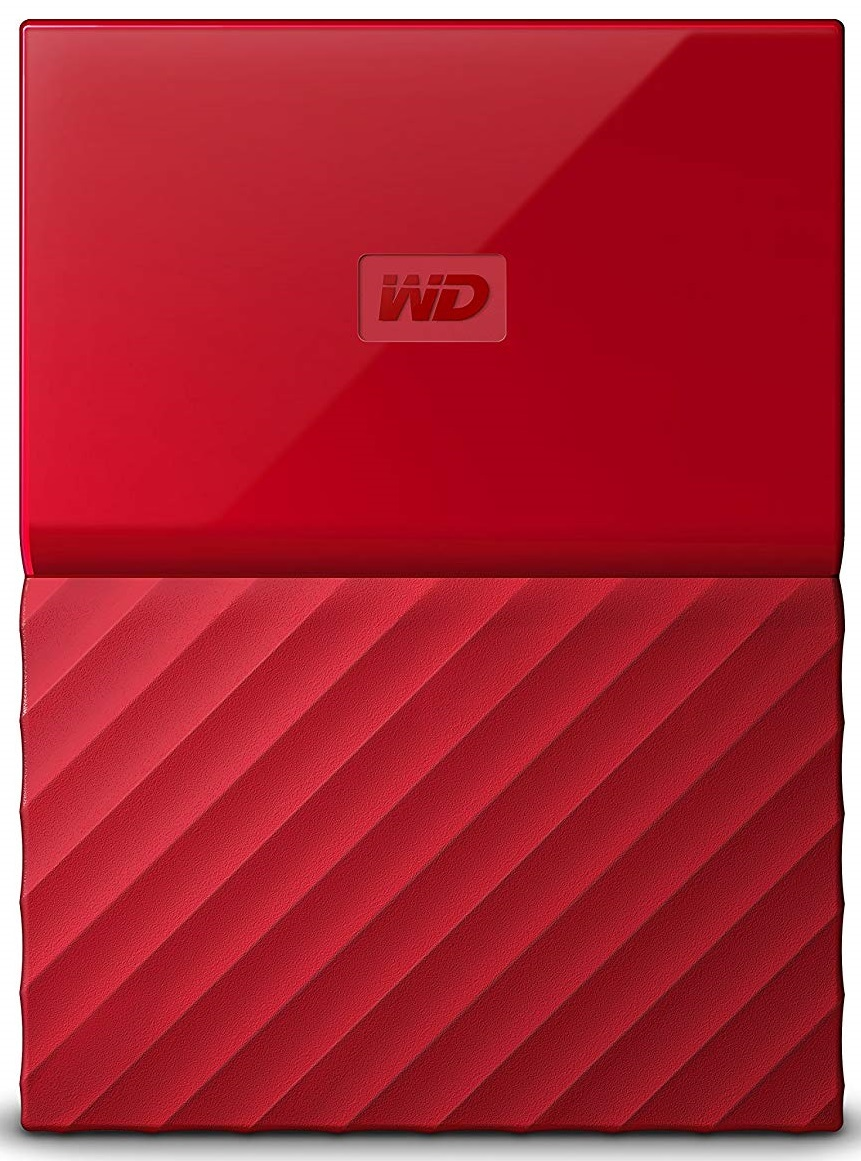 Купить Зовнішній жорсткий диск Western Digital My Passport 2TB WDBS4B0020BRD-WESN Red