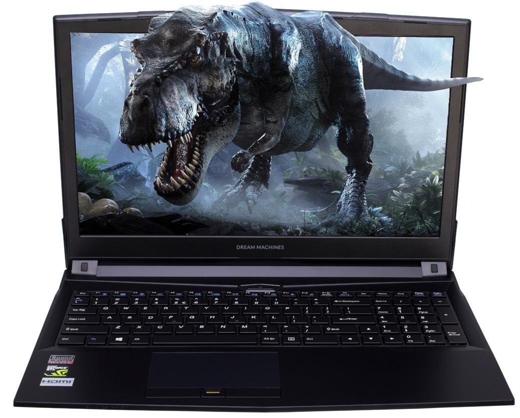 Купить Ноутбук Dream Machines Clevo G1060-15UA33 Black