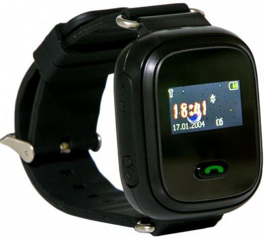 Смарт годинник GOGPS.ME ME K11 with SIM Kyivstar and GPS Black (K11BK) ... f1641ffeb5e20