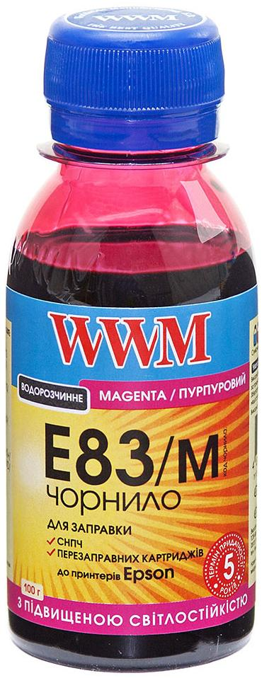 Купить Чорнило WWM for Epson Stylus Photo T50/P50/PX660 Magenta 100g світлостійке (E83/M-2)