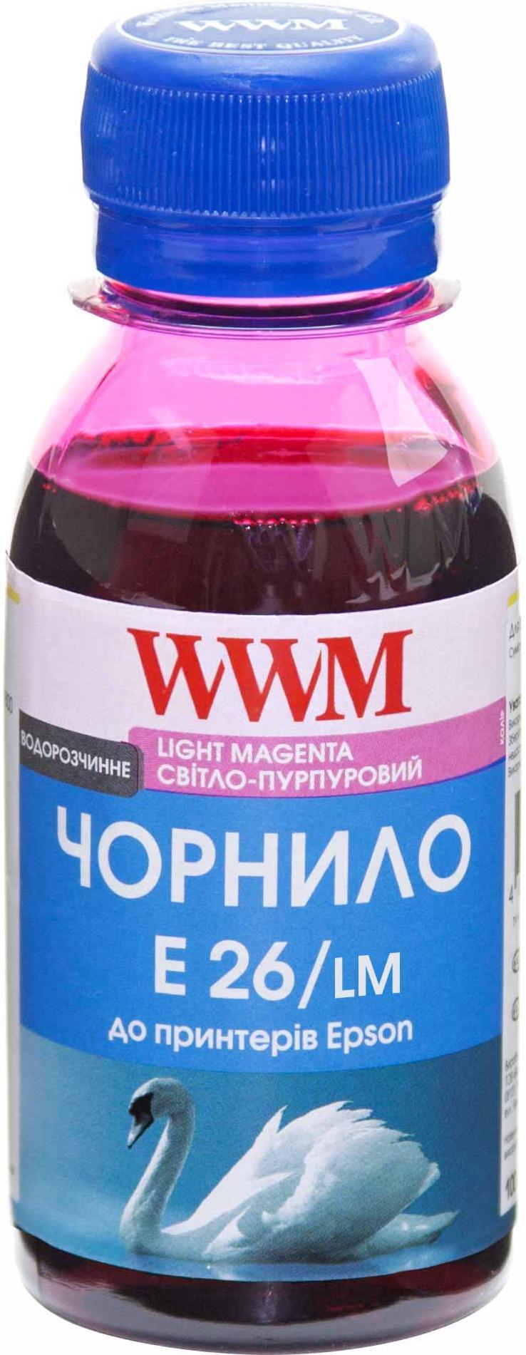 Купить Чорнило WWM for Epson Expression Photo XP-55/XP-750/XP-850 Light Magenta 100g (E26/LM-2)