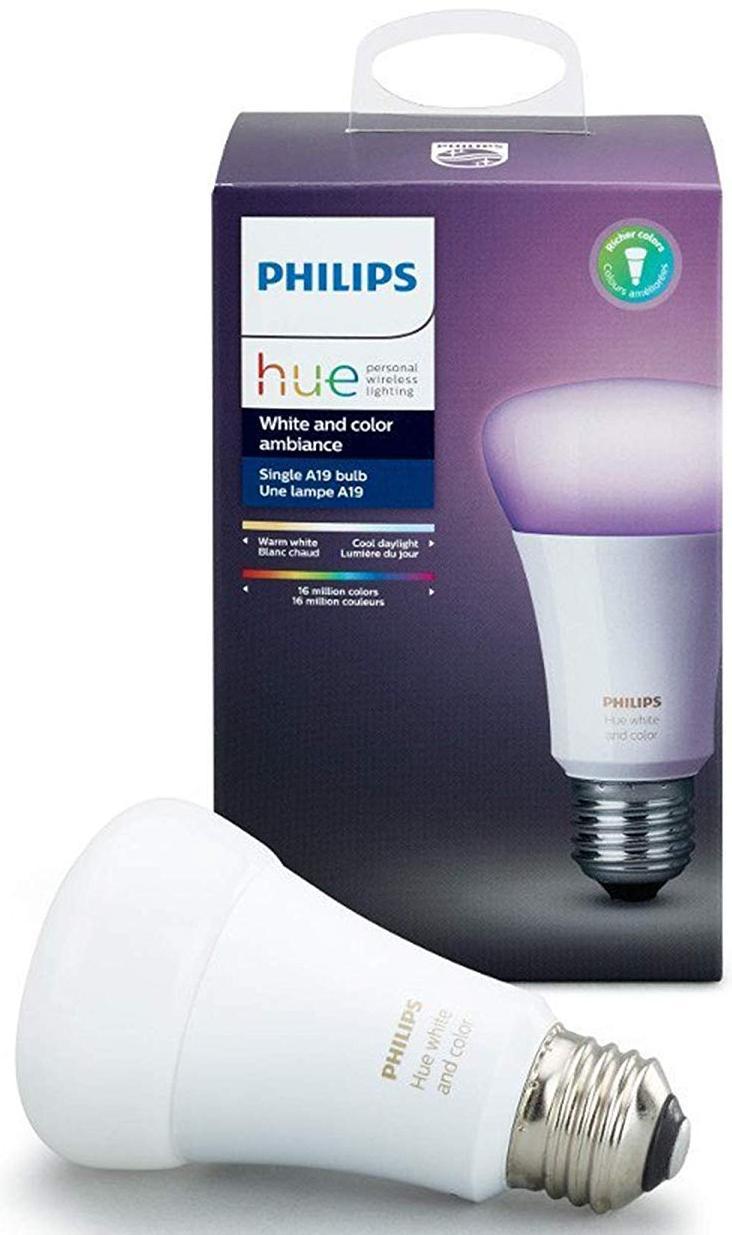 Купить Смарт-лампа Philips Hue White & Ambiance Color LED Smart Bulb 464487