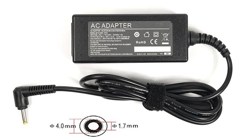 Купить Блок живлення для ноутбука PowerPlant HP 19V 2.1A 40W 4.0*1.7, HP40F4017