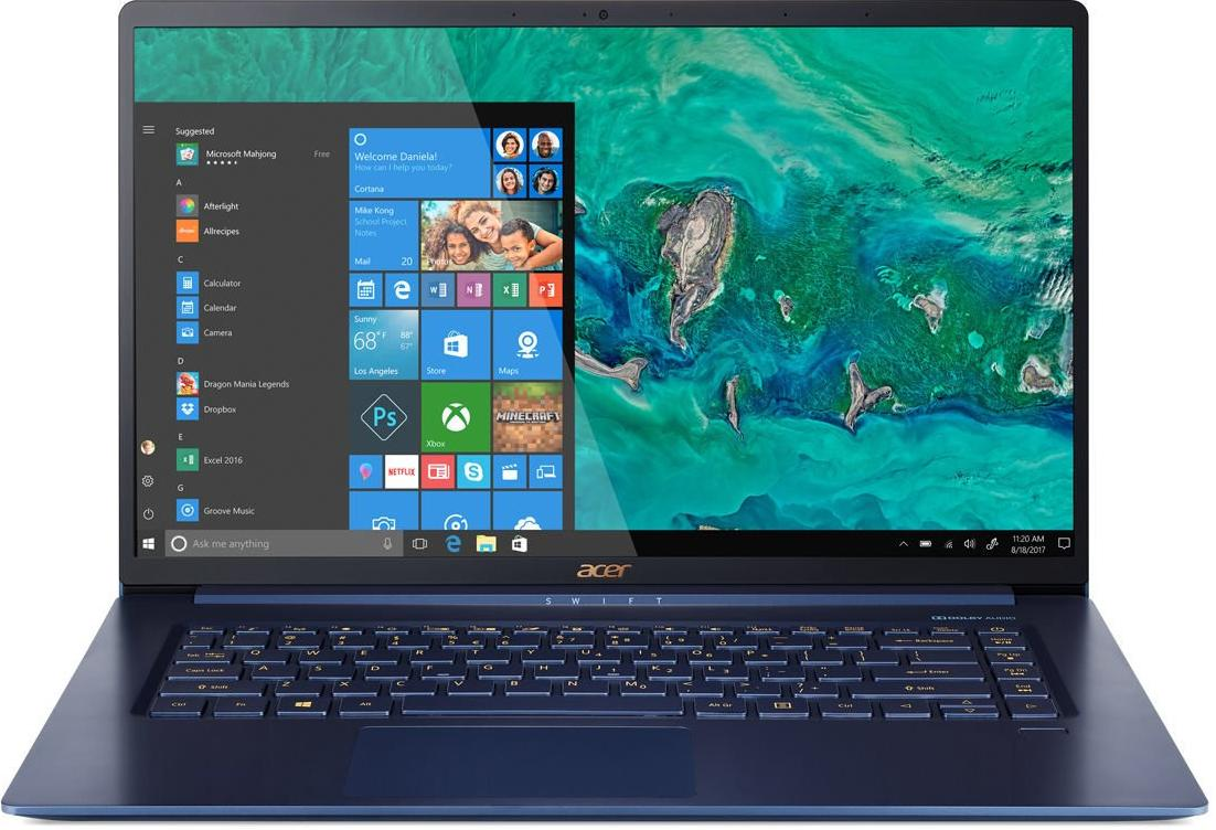 Купить Ноутбуки, Ноутбук Acer Swift 5 SF515-51T-57K4 NX.H69EU.004 Blue