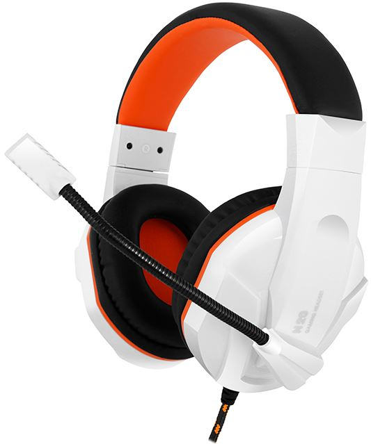 Купить Гарнітура Gemix N20 White-Black-Orange