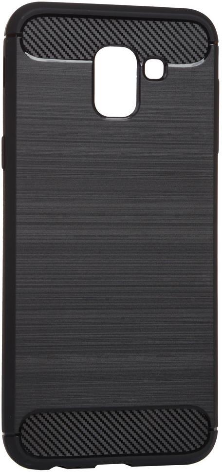 Купить Аксесуари для мобільних телефонів, Чохол BeCover for Samsung Galaxy J6 2018 SM-J600 - Carbon Series Black (702470)