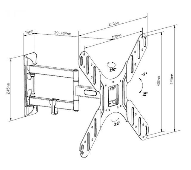 Купить Кронштейн ITech LCD-543