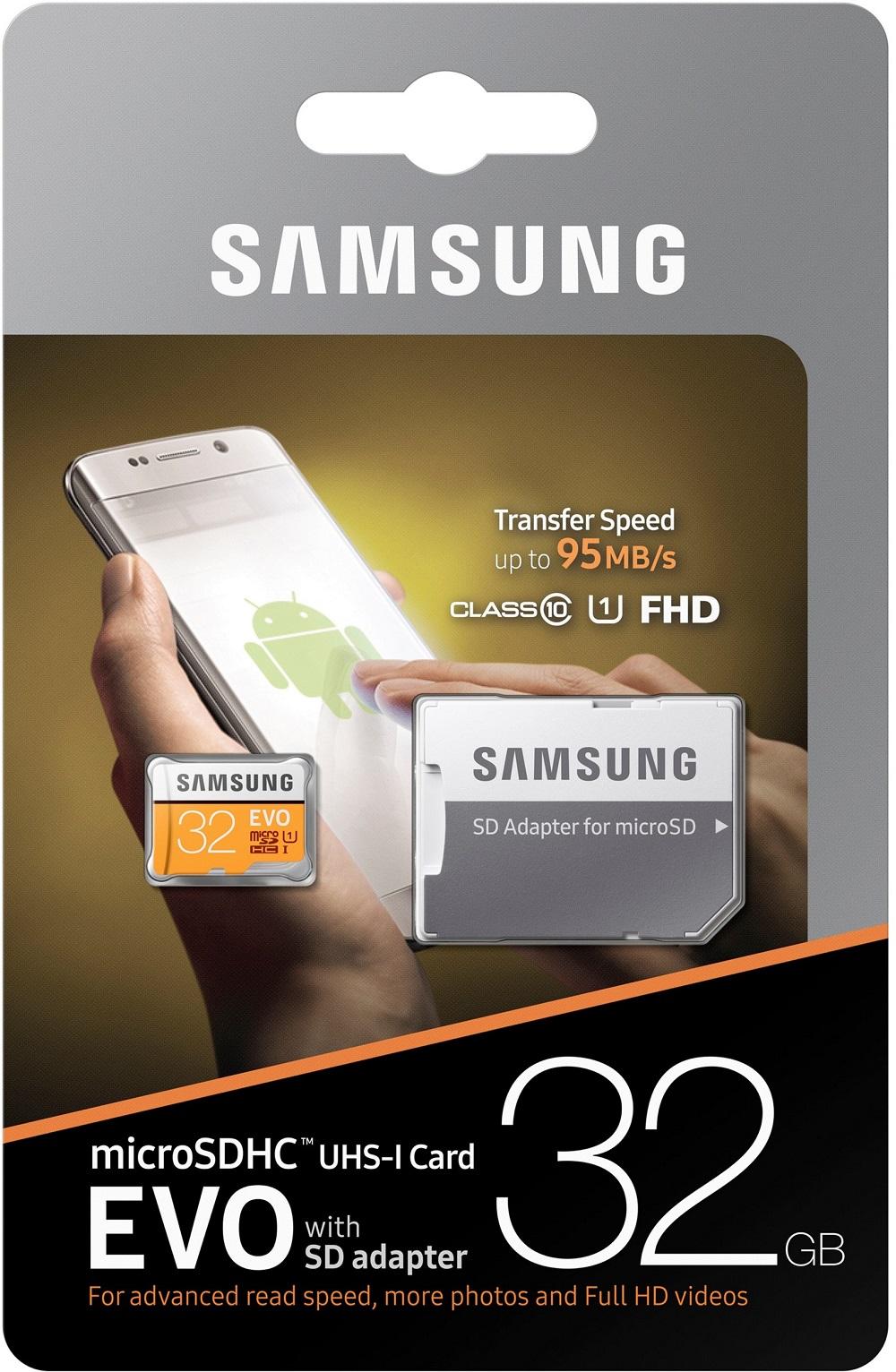 Купить Flash пам'ять, Карта пам'яті Samsung Evo Plus Micro SDHC 32GB MB-MP32GA/APC