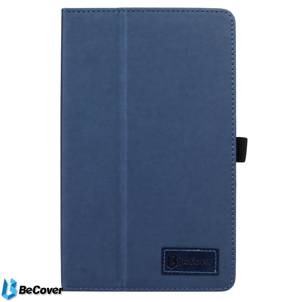 Купить Аксесуари для планшетів, Чохол для планшета BeCover for Prestigio Multipad Grace 3778 - Slimbook Deep Blue (703653)