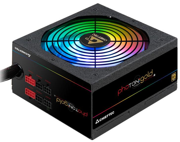 Купить Блоки живлення для ПК, Блок живлення Chieftec Photon Gold GDP-650C-RGB 650W