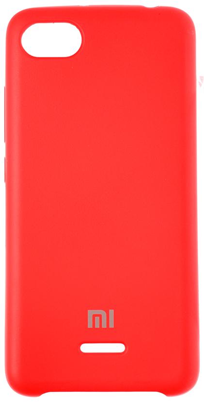 Купить Аксесуари для мобільних телефонів, Чохол HiC for Xiaomi Redmi 6A - Silicone Case Red (SCXR6A-14)